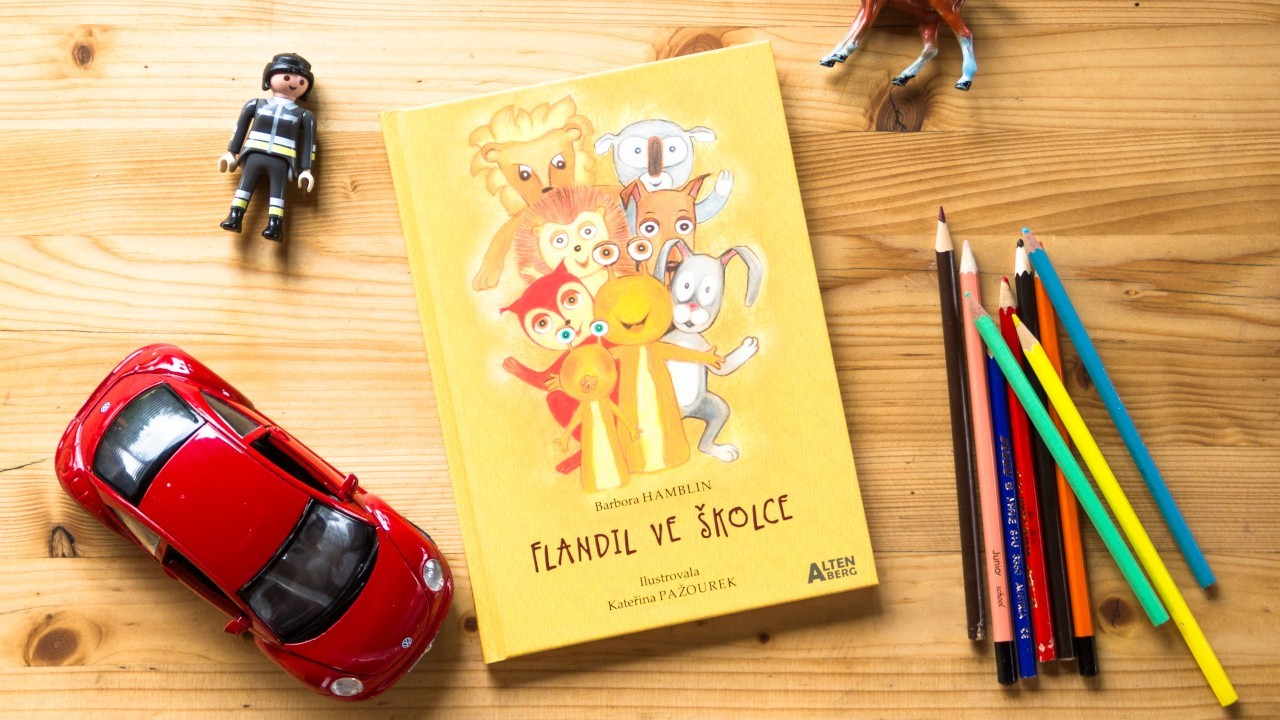 Čtenářské ohlasy na knížku Flandil ve školce